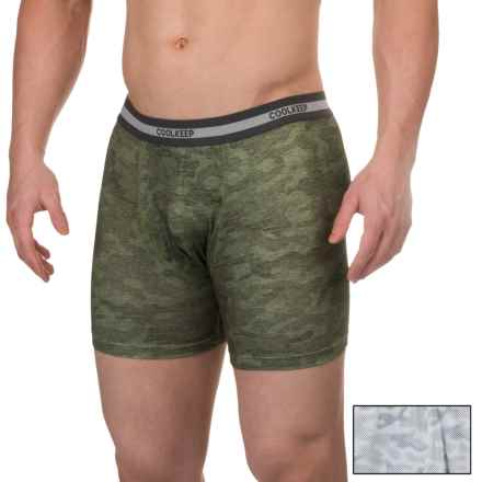 32 Degrees Cool Keep Boxer Briefs - 2-Pack (For Men) in Glacier Electronic/Army Spring Camo - Closeouts