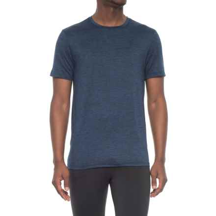 32 Degrees Cool Tech T-Shirt - Short sleeve (For Men) in Deep Pacific Blue - Closeouts