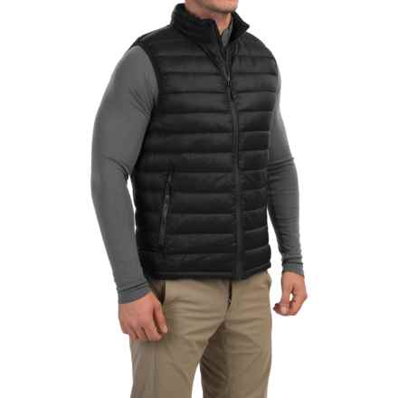 32 Degrees Down Vest - 650 Fill Power (For Men) in Black - Closeouts