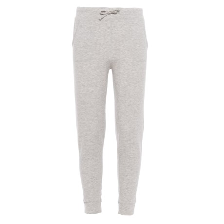 32 Degrees Drawstring Joggers (For Girls) in Heather Grey