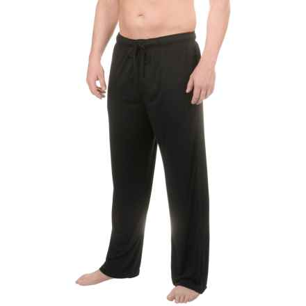 32 Degrees Heat Brushed Lounge Pants (For Men) in Black - Closeouts