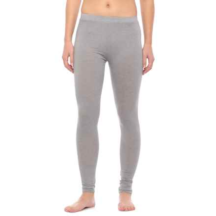 32 Degrees Heat Thermal Base Layer Pants (For Women) in Heather Grey - Closeouts