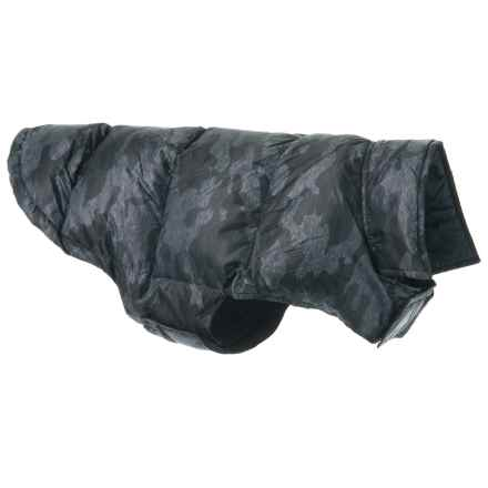 32 Degrees Heat Ultralight Down Dog Jacket - Medium-Large in Grey Camo - Closeouts