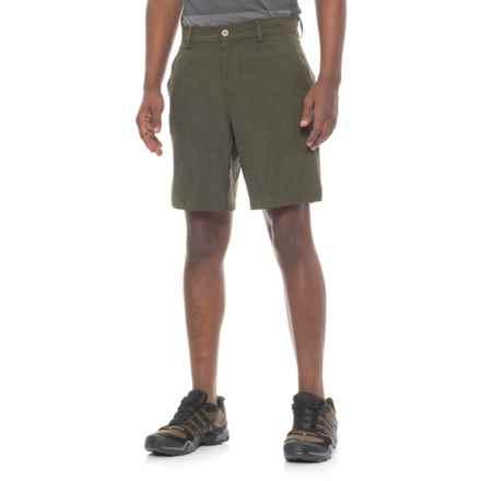 32 Degrees High-Performance Shorts (For Men) in Moss Melange - Overstock