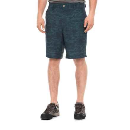 32 Degrees High-Performance Shorts (For Men) in Teal Camo - Overstock