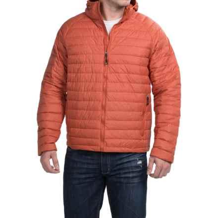 32 Degrees Nano Light Hooded Down Jacket - 650 Fill Power (For Men) in Burnt Orange Melange - Closeouts