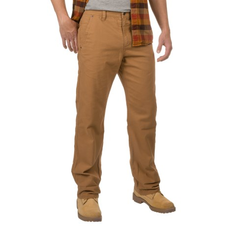 32 Degrees Oxford Cotton Pants - Flannel Lined (For Men)