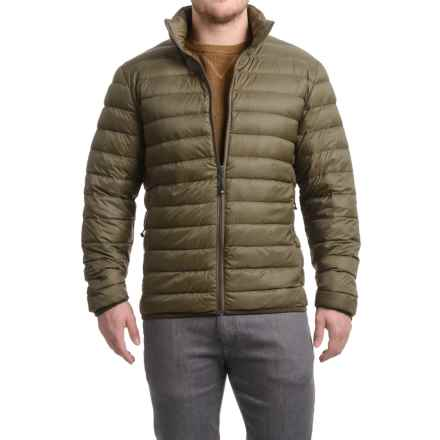 32 Degrees Packable Down Jacket (For Men) in Olive Melange - Closeouts