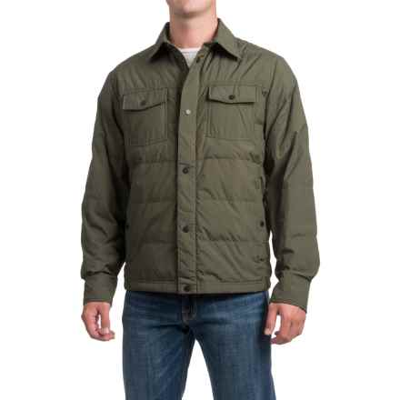 32 Degrees Packable Down Shirt Jacket (For Men) in Iris Leaf Melange - Closeouts