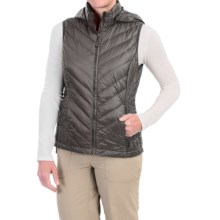 32 Degrees Packable Down Vest - 650 Fill Power (For Women) in Charcoal Grey - Closeouts