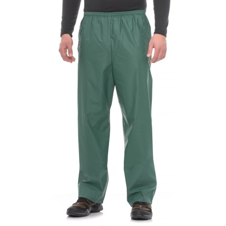 32 Degrees PVC Rain Pants (For Men) in Forrest Green