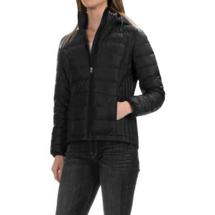 32 Degrees Silk Nano Lightweight Down Jacket - 650 Fill Power (For Women) in Black - Closeouts