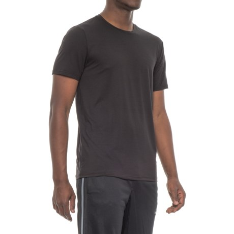 32 Degrees Solid Cool Tech T-Shirt - Short Sleeve (For Men) in Black