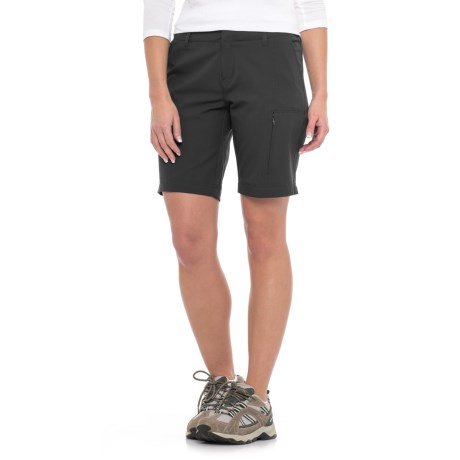32 Degrees Stretch Shorts (For Women) in Black