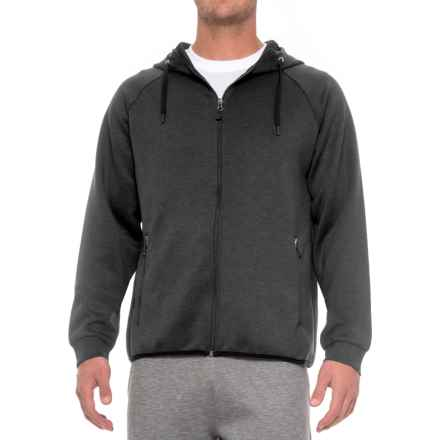 32 Degrees Tech Fleece Hoodie (For Men) in Heather Black - Closeouts