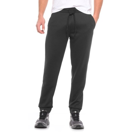 32 Degrees Tech Fleece Joggers (For Men) in Black