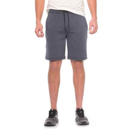 32 Degrees Tech Fleece Shorts (For Men) in Heather Navy - Closeouts