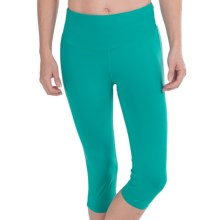32 Degrees Yoga Capris (For Women) in Turqouise Green - Closeouts