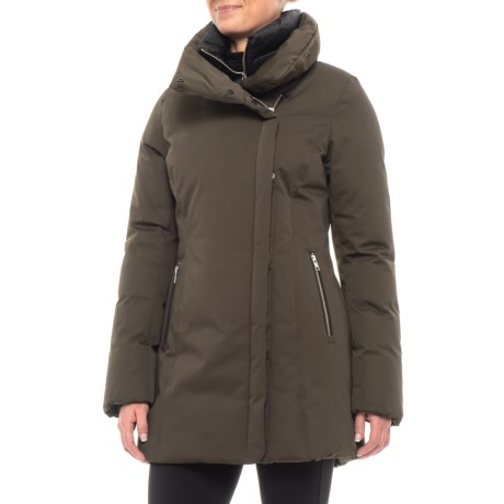 Image of 32? Gytha Asymmetrical Down Jacket with Inner Bib - 700+ Fill Power (For Women)