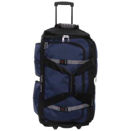 Image of 34? 15-Pocket Wheeled Duffel Bag