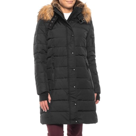 Image of 36? Matte Down Coat with Fleece Cuffs - Insulated