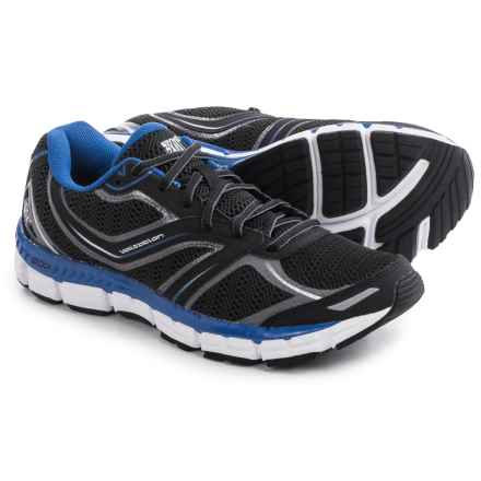 361 Degree Volitation Running Shoes (For Men) in Black/Castlerock/Nautical Blue - Closeouts