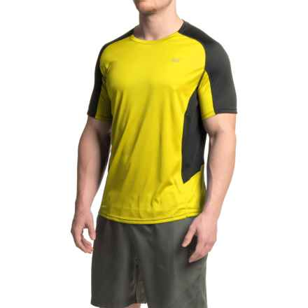 361 Degrees BFit Shirt - Short Sleeve (For Men) in Blazing Yellow/Black - Closeouts