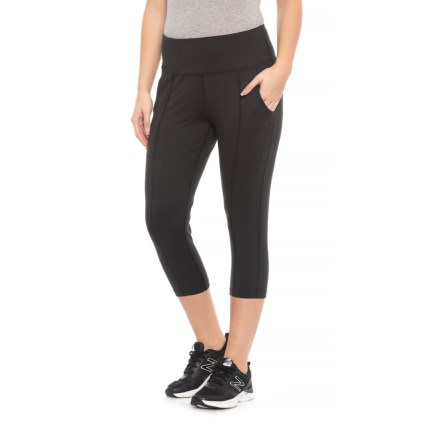 b2ec6eceb3 361 Degrees Fit Lux Relaxed Capris (For Women) in Black - Closeouts