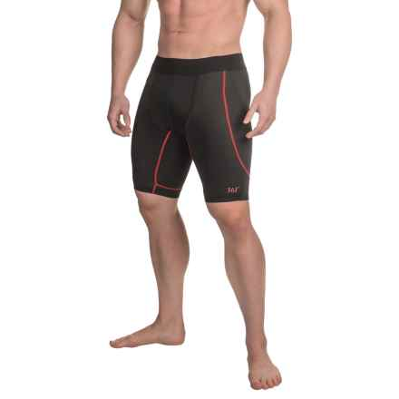 361 Degrees NX2SKN Shorts (For Men) in Black/Chi - Closeouts