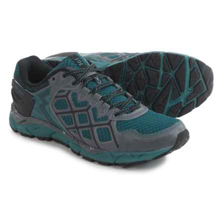 361 Degrees Ortega Trail Running Shoes (For Men) in Castlerock/Balasm - Closeouts