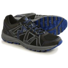361 Degrees Overstep Trail Running Shoes (For Men) in Black/Surf - Closeouts