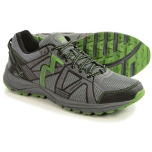 361 Degrees Overstep Trail Running Shoes (For Men) in Castlerock/Forest - Closeouts