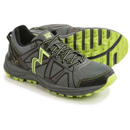 361 Degrees Overstep Trail Running Shoes (For Women) in Castlerock/Green - Closeouts