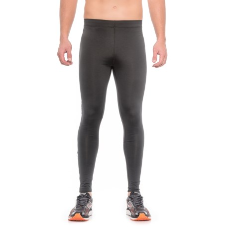 361 Degrees Quick Running Tights (For Men) in Black
