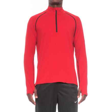 361 Degrees Quik Thermal Lux Shirt - Zip Neck, Long Sleeve (For Men) in Chi - Closeouts