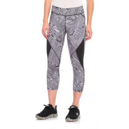 d38e2fe61ffa 361 Degrees Qu!K Cut Capris (For Women) in Fire And Ice/