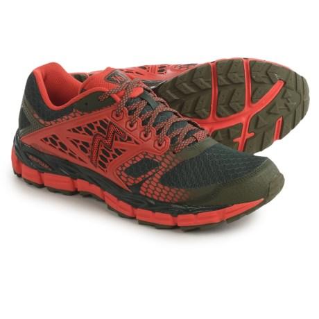 361 Degrees Santiago Trail Running Shoes (For Men) in Cyprus/Poppy
