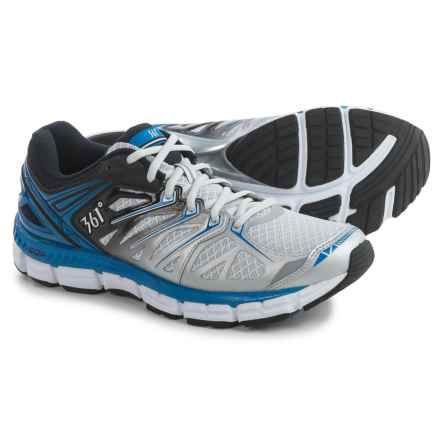 361 Degrees Sensation Running Shoes (For Men) in Gray/Black/Nautical - Closeouts