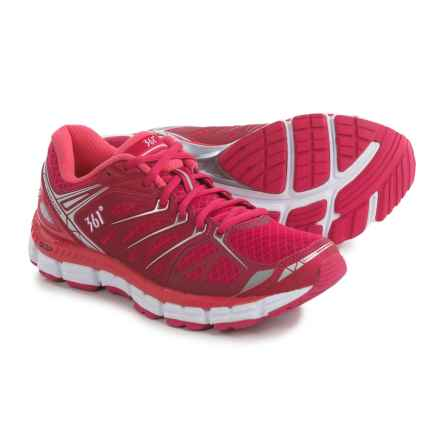 361 Degrees Sensation Running Shoes (For Women) in Bright Rose/Pink/Silver - Closeouts