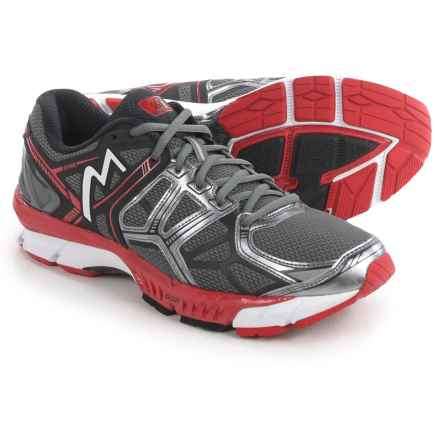 361 Degrees Spire Running Shoes (For Men) in Castlerock/Black/Chi - Closeouts