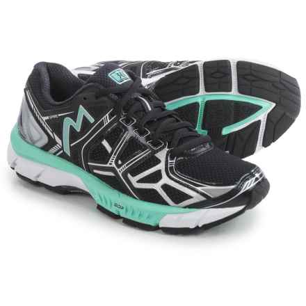 361 Degrees Spire Running Shoes (For Women) in Black/Silver/Aruba - Closeouts