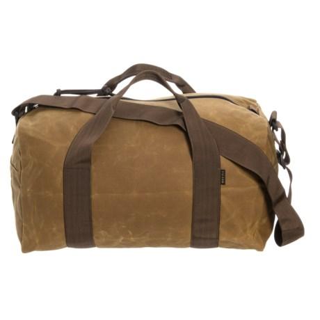 Image of 36L Tin Cloth Field Duffel Bag