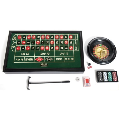 Image of 4-in-1 Casino Game Set - 2-20 Players, Ages 18+