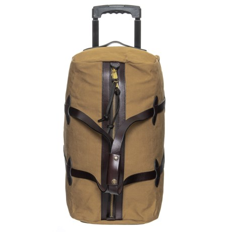 Image of 43L Rugged Twill Rolling Duffel Bag - Small