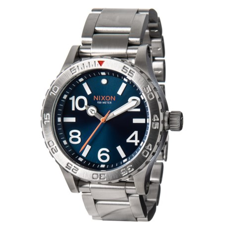 Image of 46 Stainless Steel Watch - 46mm (For Men)