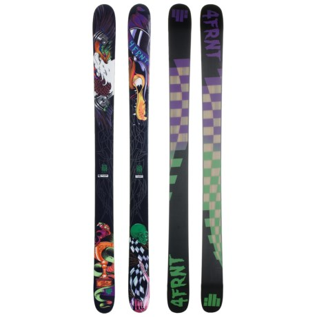 4FRNT Turbo Alpine Skis - All-Mountain in See Photo