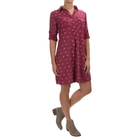 4OUR Dreamers A-Line TENCEL® Dress - Long Sleeve (For Women)