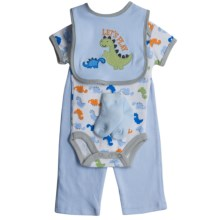 5-Piece Layette Set (For Infants) in Blue Lets Play - Closeouts