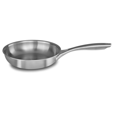 5-Ply Copper Core Stainless Steel Skillet - 8?