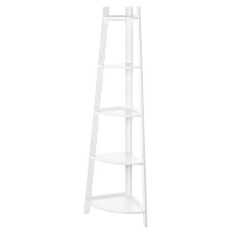 Image of 5-Tier Tapered Wooden Shelf